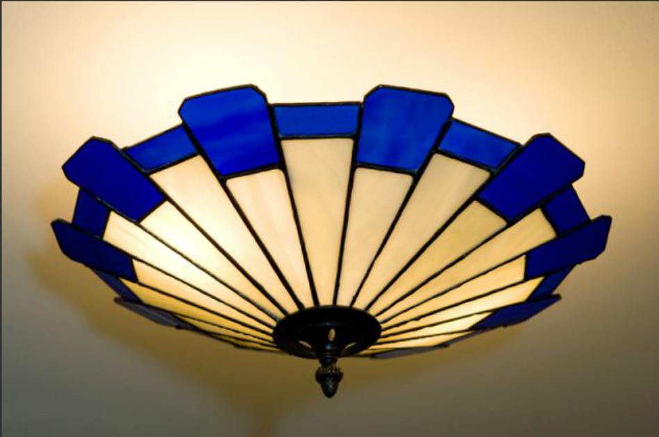 Lights stained glass lamps stained glass ceiling shade inverness aloadofball Image collections